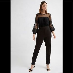 NWT French Connection Black Jumpsuit SIZE:4